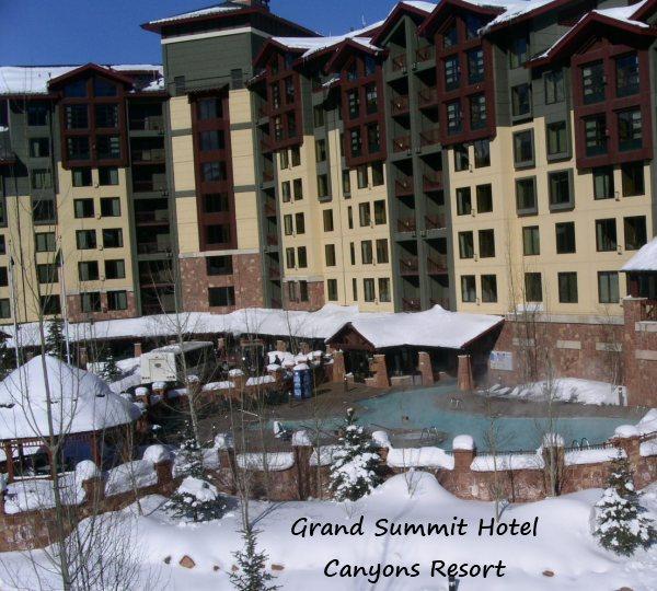 grand summit lodge canyons resort