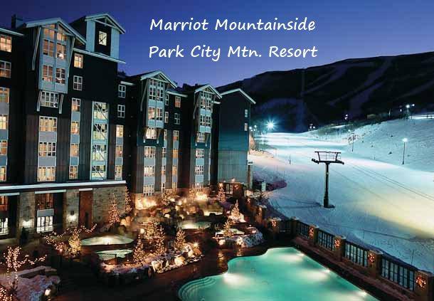marriot mountainside park city mountain resort
