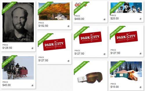 park city film series auction
