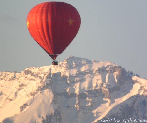 park city hot air balloon rides