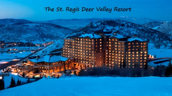 st regis hotel deer valley resort