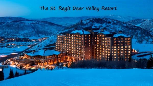 st regis hotel deer valley resort