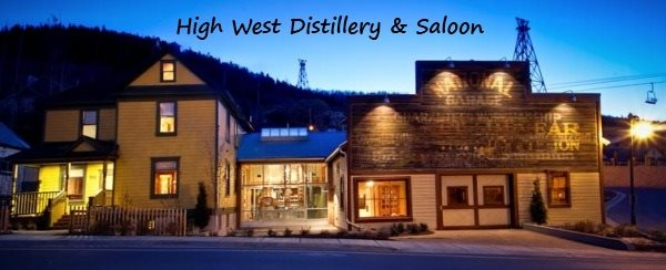 High West Distillery and Saloon in Park City, Utah